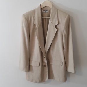 Alfred Dunner | Linen Blazer Jacket Size 12